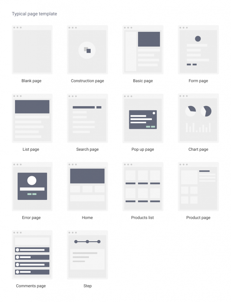 Ant UX Wireframes Free | TemplateDuo