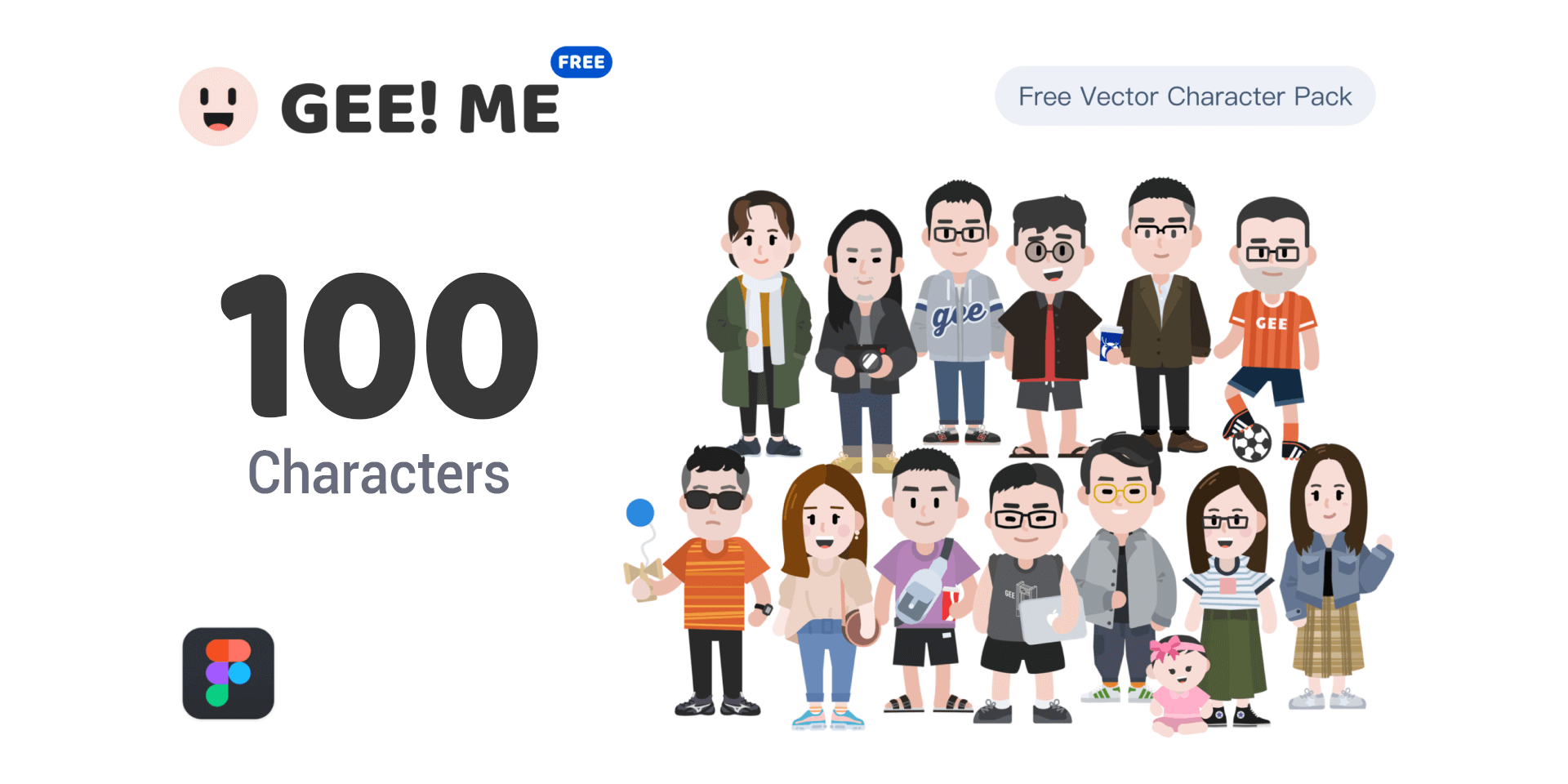 Characters Illustration Pack