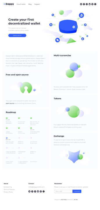 Cryptocurrency Landing Page Design Free   TemplateDuo