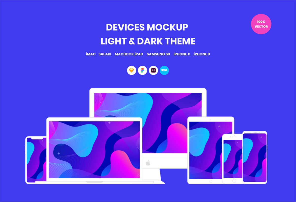 Devices Vector Mockups