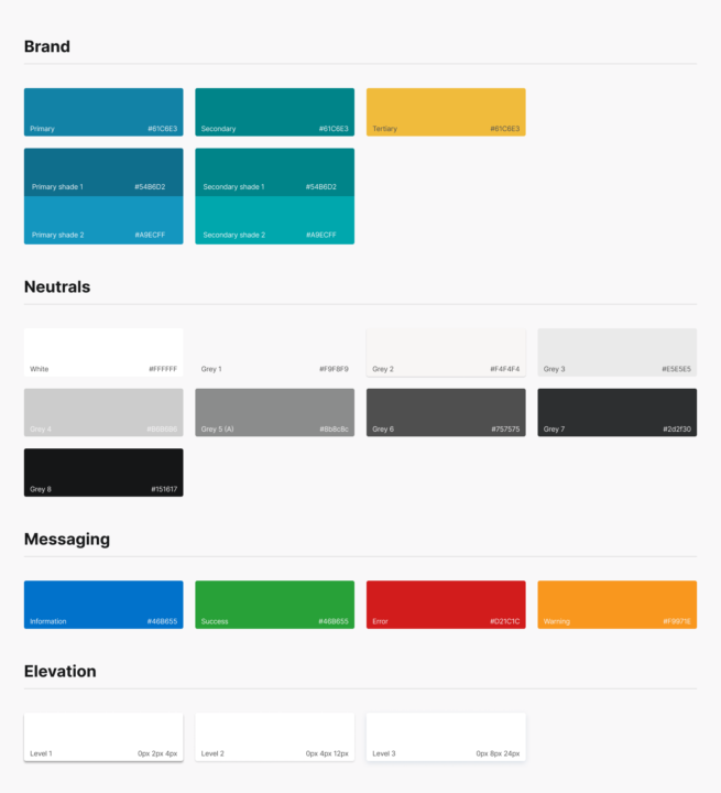 Figma Project Style Guide Free   TemplateDuo