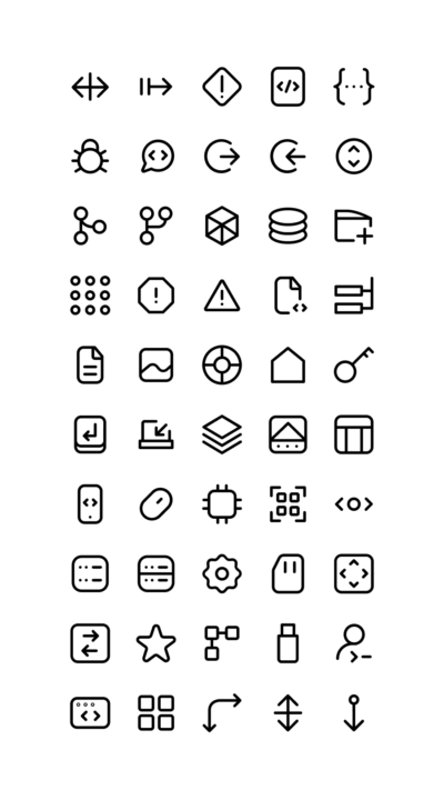Free Developer Icon Pack | TemplateDuo