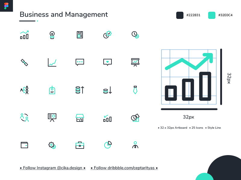 Business and Management Icons Free