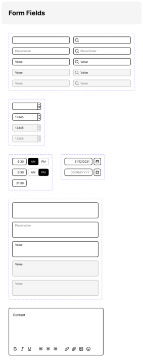 Website Wireframe Template Free   TemplateDuo