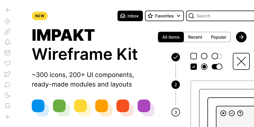 Website Wireframe Template Free