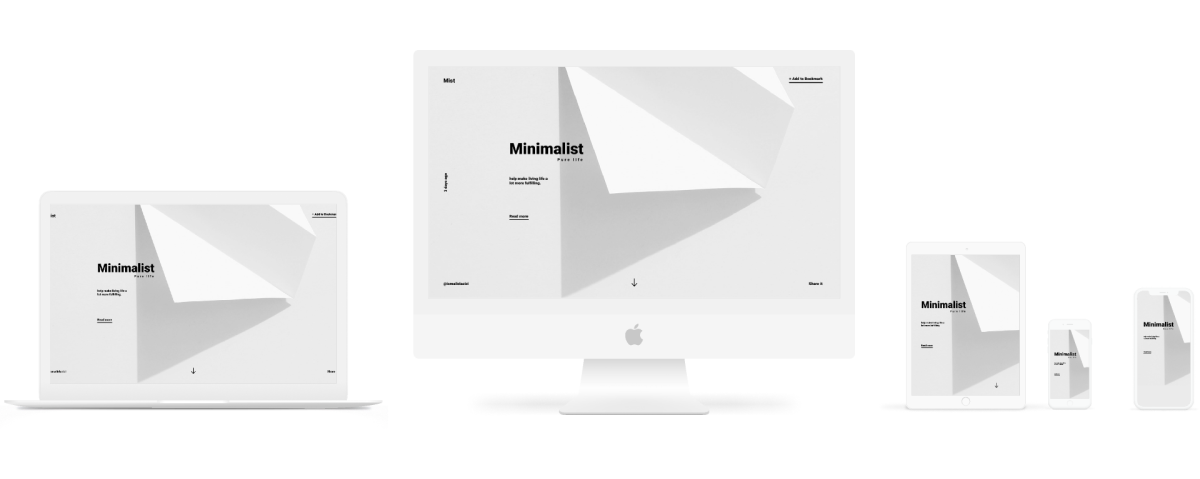 Minimal Apple Devices Mockup Free For Figma