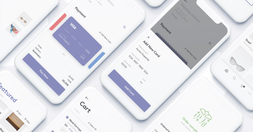 Check Out App UI Kit Free