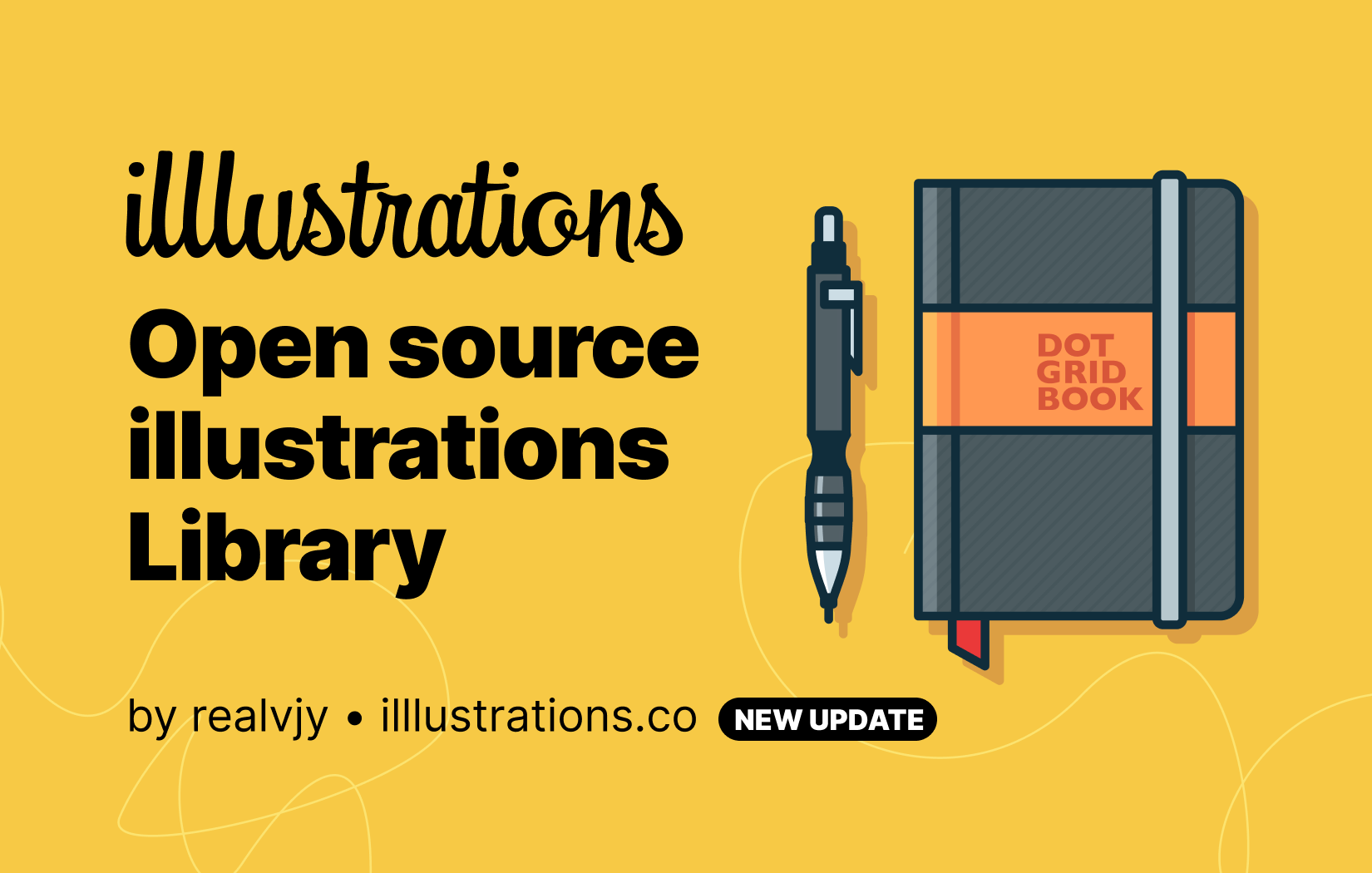 Open Source Illustration Library Free