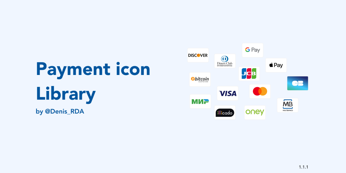 Payment Icon Library