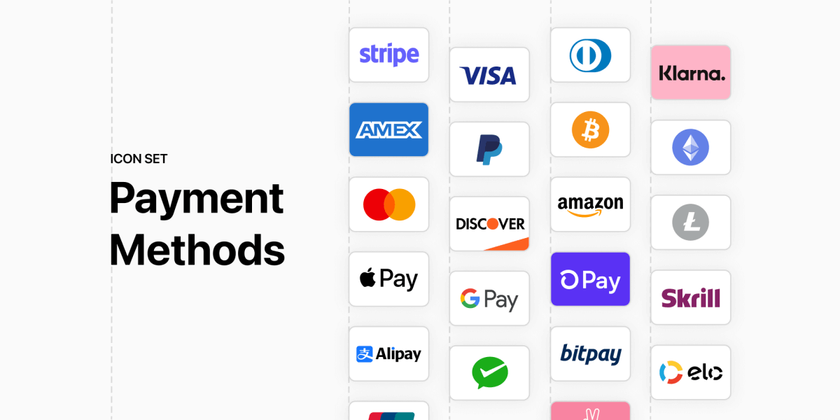 Payment Method Icons Free