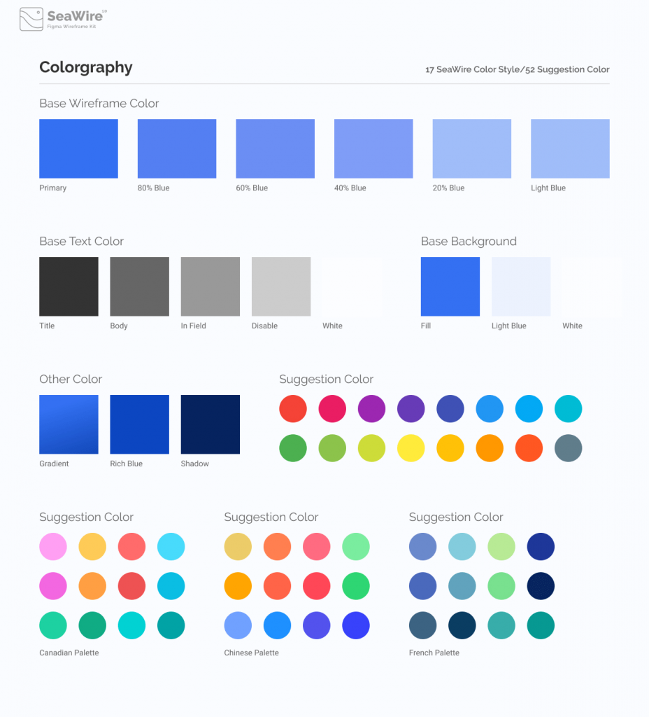 Material Wireframe Kit Free   TemplateDuo