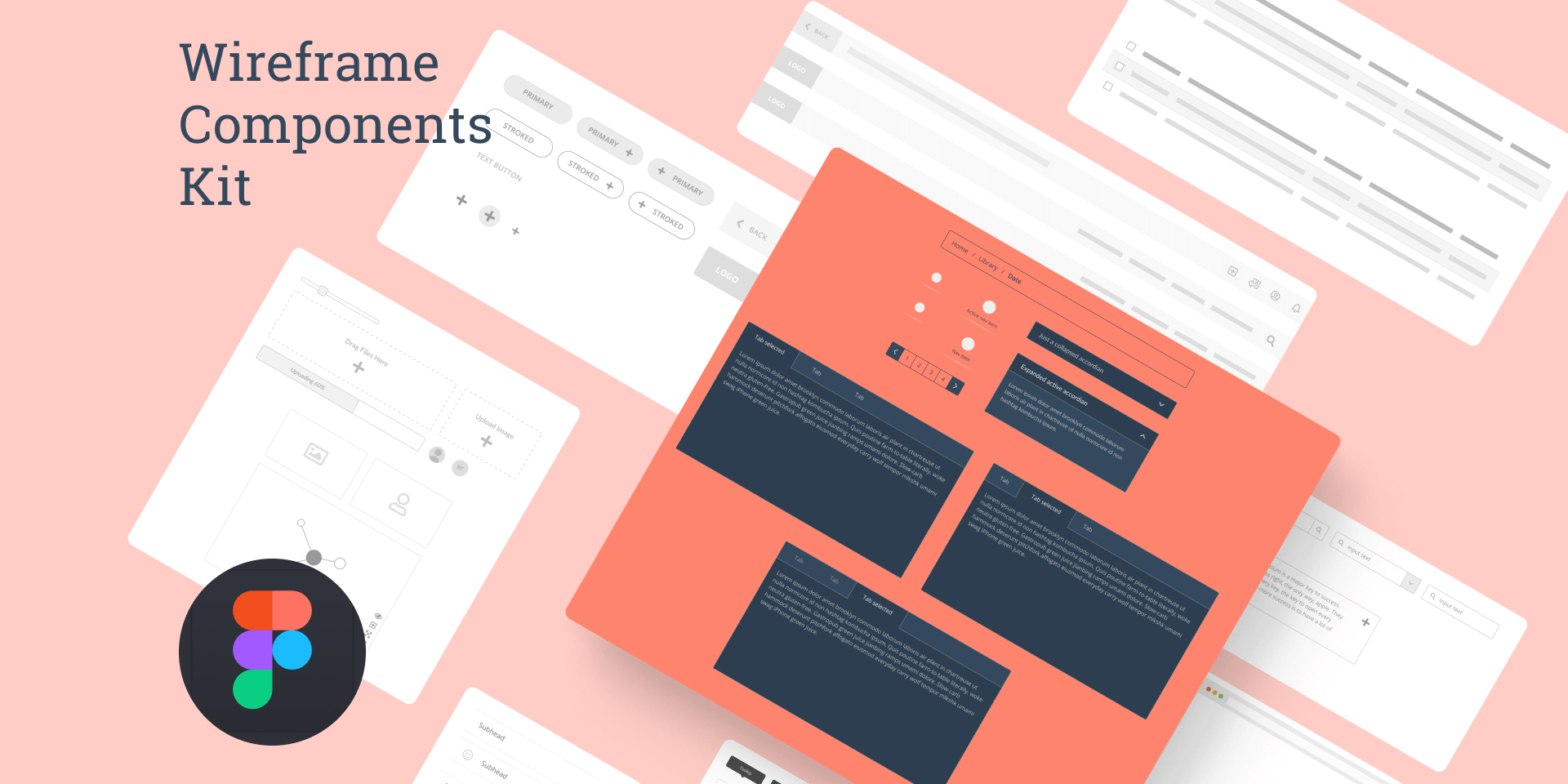 Wireframe Component Library Free