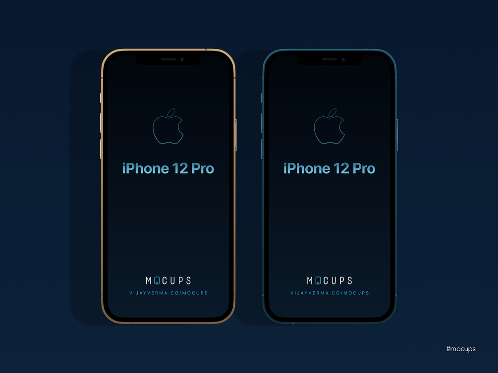 iPhone 12 Mockup Free For Sketch | TemplateDuo